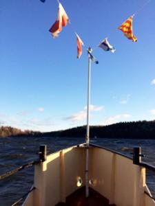 Båt, sjöbegravning